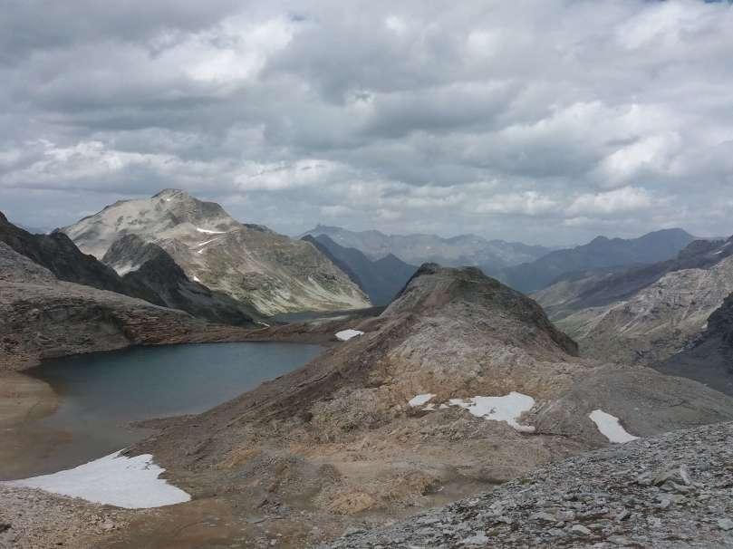 rando-caching Lac de Sommeiller