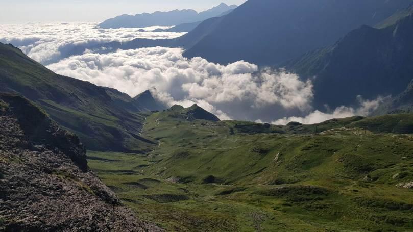 Mer de nuages Pyrénées