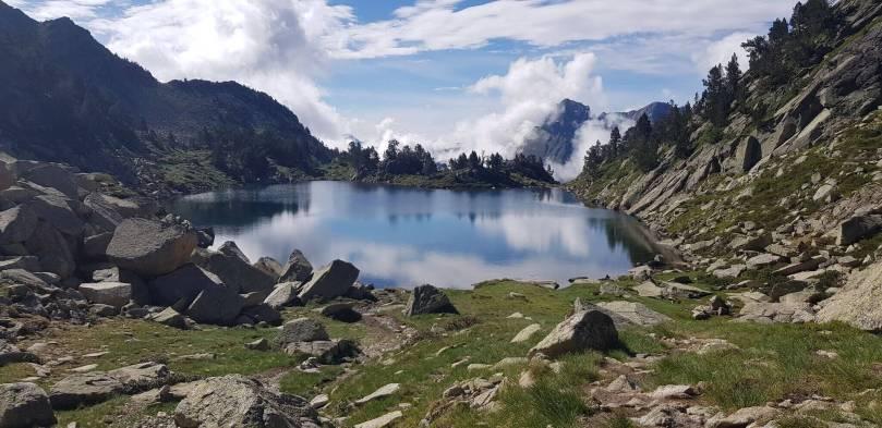 Lac sur GR10
