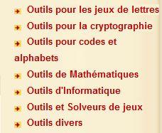 menu dcode