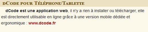 mobile dcode.fr